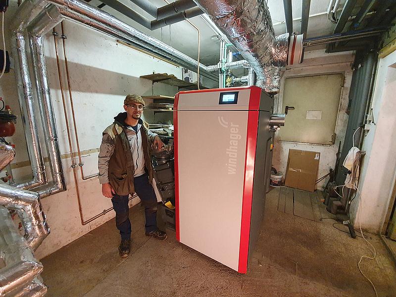 PuroWIN La caldera de pellets con cero emisiones